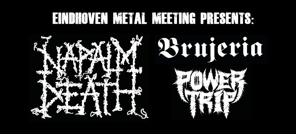 Napalm Death + Brujeria + Power Trip