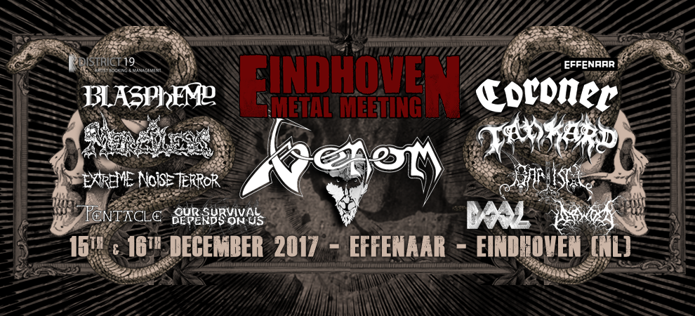 Eindhoven Metal Meeting: Venom + Blasphemy + Merciless e.v.a
