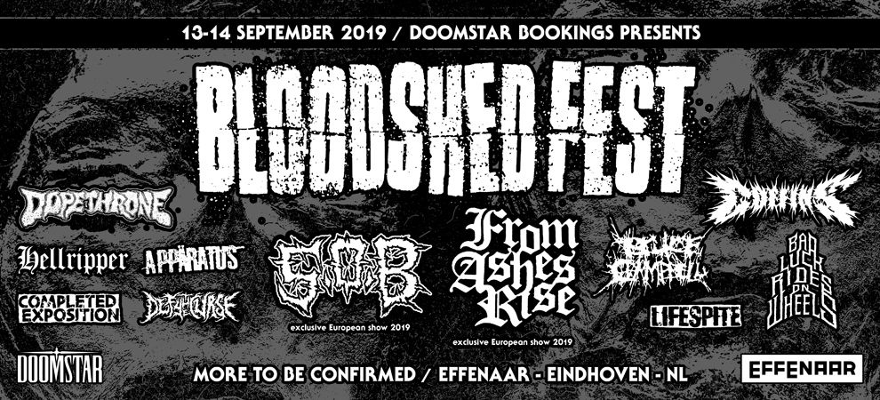 Bloodshed Fest: S.O.B. + From Ashes Rise e.v.a.