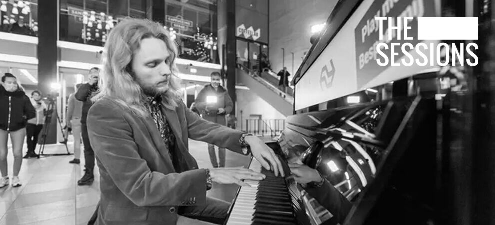 The Sessions: online piano-concert vanuit Eindhoven Centraal