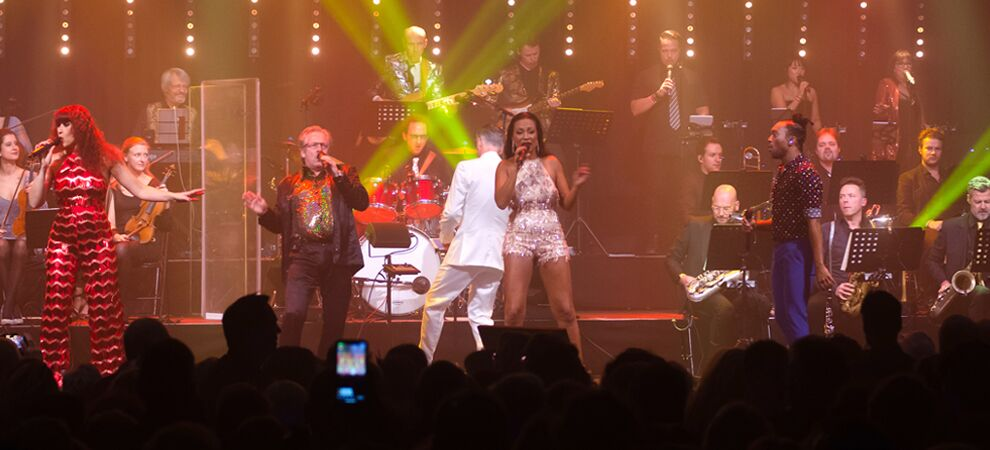 Disco Inferno met Discophonic Orchestra