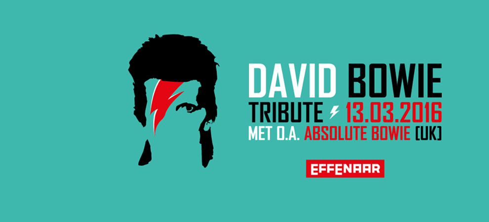 David Bowie Tribute met o.a. Absolute Bowie (UK)