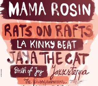 Koninginnedagfestival met o.a.: Mama Rosin + La Kinky Beat + Rats on Rafts + Jaya The Cat