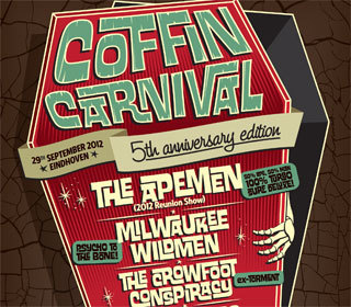 Coffin Carnival V: o.a. The Apemen + Milwaukee Wildmen + The Crowfoot Conspiracy