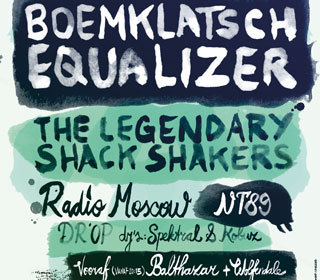 Koninginnenachtfestival: o.a. Boemklatsch Equalizer + The Legendary Shack Shakers
